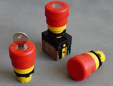 伊玛新型包覆式高安全性22mm急停开关