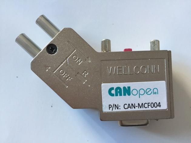 裕光科技金属外壳CAN bus 现场总线连接器CAN-MCF004