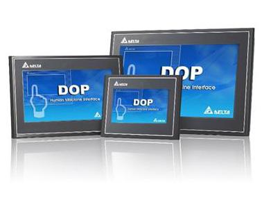 台达全新进阶网路型人机 DOP-100 系列