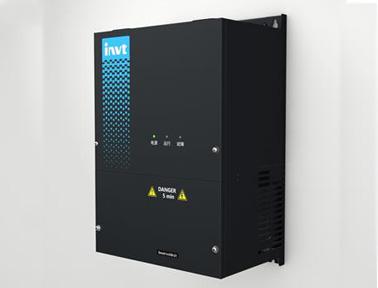 英威腾Goodrive300-21系列空压机双变频一体机控制系统