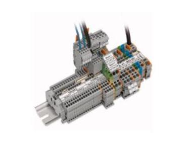 WAGO 轨装式接线端子