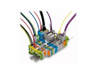 WAGO  接插式轨装接线端子系列