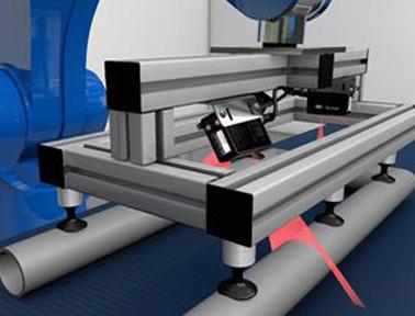 堡盟PosCon CM无需反光板即可轻松完成圆形物体测量