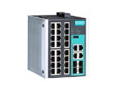EDS-528E系列24+4G 口千兆网管型以太网交换机