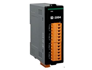 泓格科技最新发布M-2004 4端口菊花链数字温度传感器模块