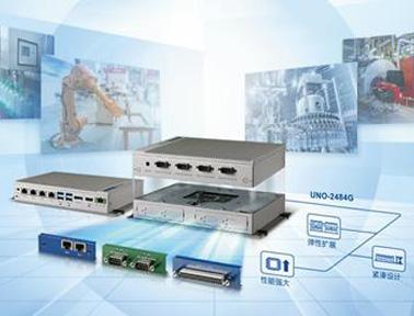 研华模组化嵌入式无风扇工业电脑UNO-2484G