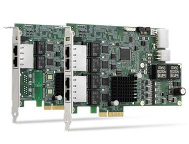 凌华科技GigE Vision PoE+图像采集卡PCIe-GIE72/74