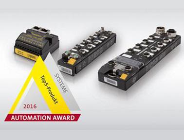 图尔克带PLC功能的多协议I/O模块
