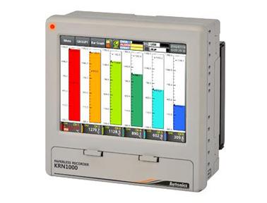 奥托尼克斯KRN1000系列LCD触摸屏式无纸记录仪