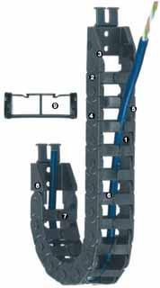 方便型拖链-E045系列