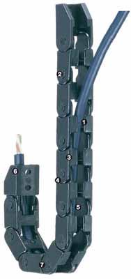 方便型拖链-E04系列