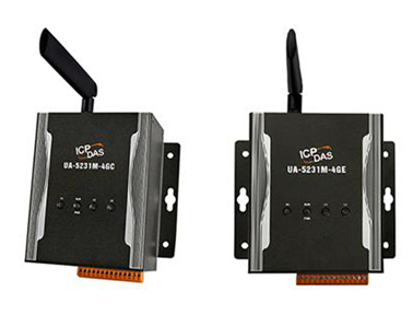 泓格云端物联网 UA Series新产品: UA-5231M-4GE 和 UA-5231M-4GC