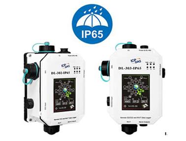 泓格DL-302-IP65/DL-303-IP65一氧化碳/二氧化碳/温度/湿度/露点数据记录器