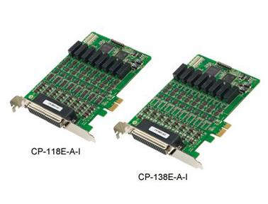 Moxa CP-118E-A-I/138E-A-I智能型PCI Express多串口卡