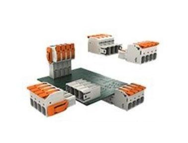 操作便捷:带有操作杆的接插式大功率PCB连接器