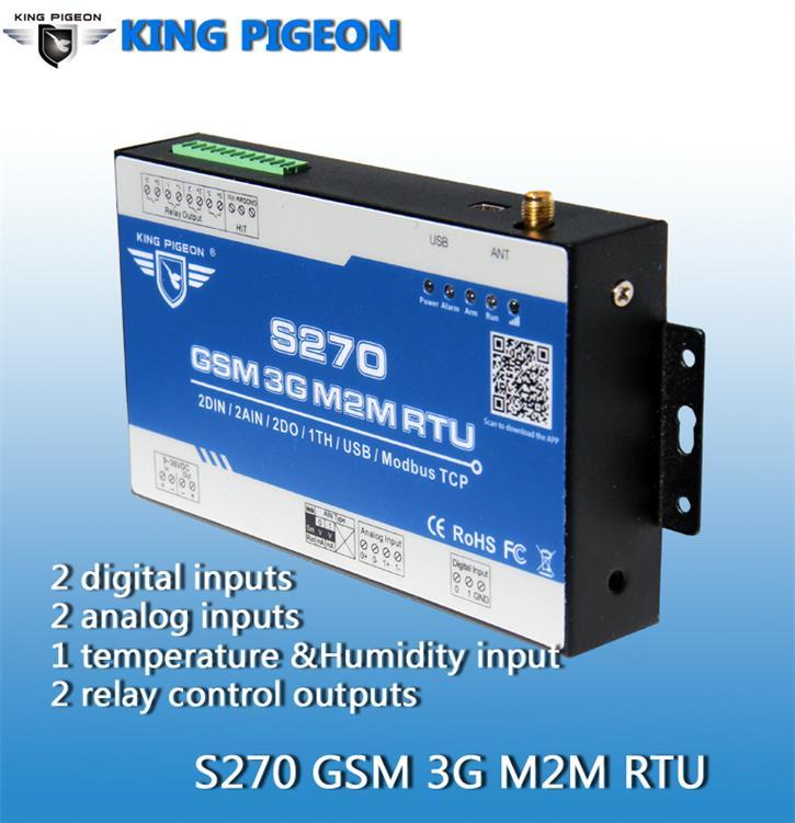 金鸽S270 GSM 3G 4GRTU远程控制终端