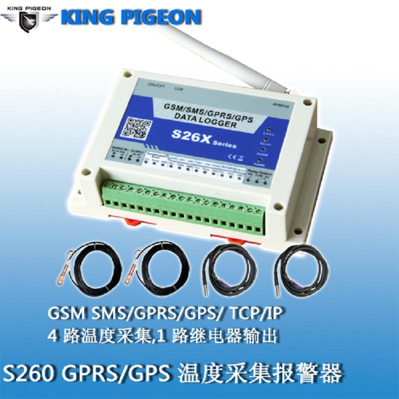 金鸽S260 GSM GPRS 3G温度采集器