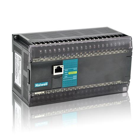 Haiwell海为以太网PLC H60S0R-e 200Khz高速脉冲 以太网PLC主机