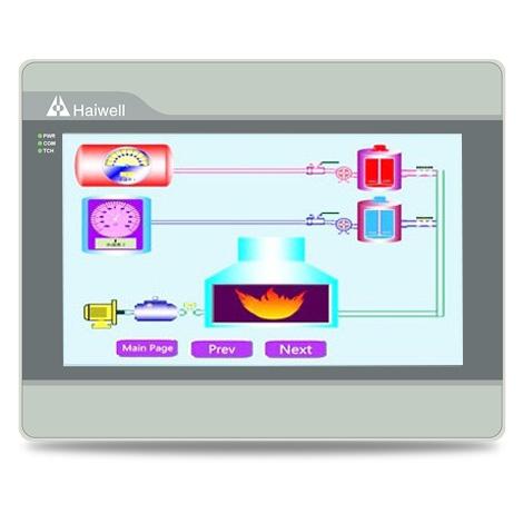 C10 - Haiwell(海为)人机界面10.1寸以太网触摸屏
