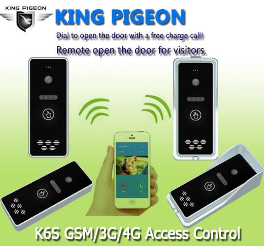 K6S GSM GPRS 3G无线别墅远程开门器