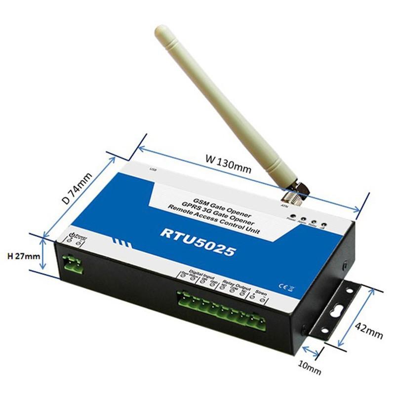 金鸽RTU5025 GSM 3G无线物联网开门控制器