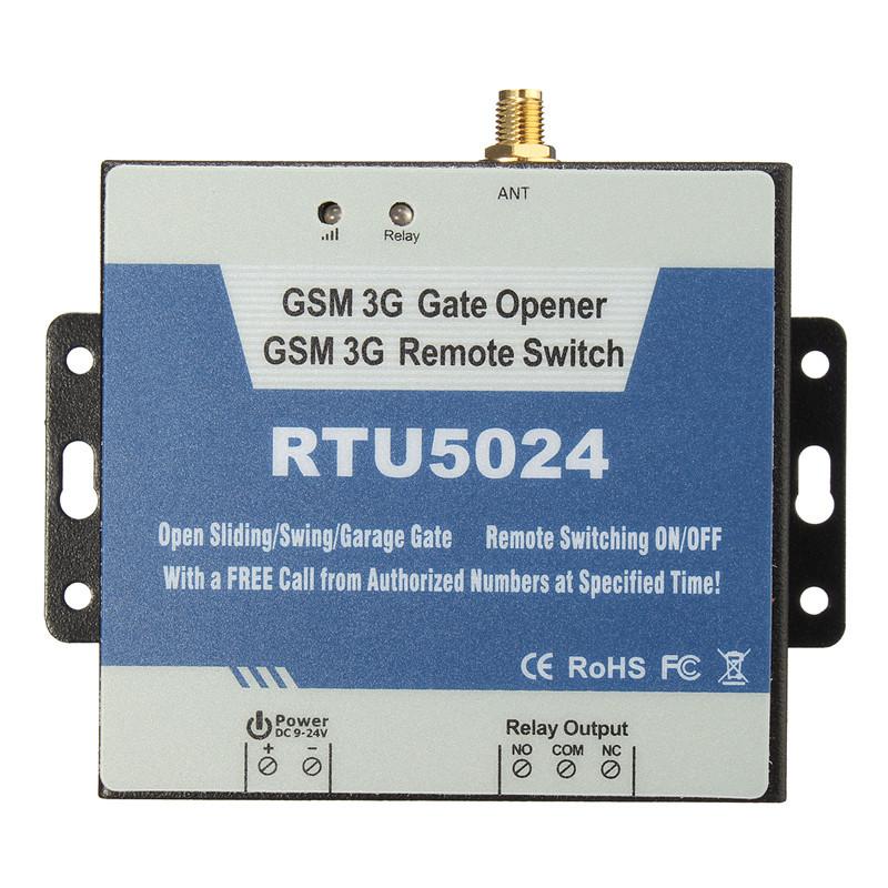 金鸽RTU5024 GSM 3G无线物联网开门控制器