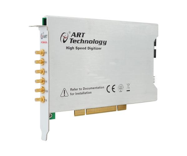 阿尔泰PCI8502B高速同步数据采集卡 4路12位 每路40M采样频率