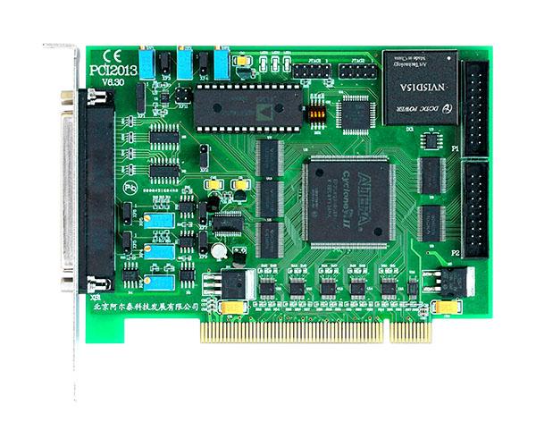 北京阿尔泰  PCI2013 多功能采集卡  14位 16路模拟最输入;带DA、DIO功能  100KS采样频率