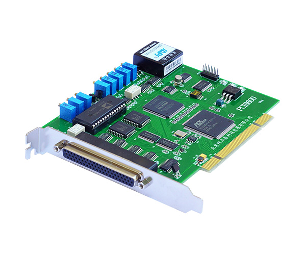 PCI8600 12位 32路模拟最输入,带DA、DIO、计数器功能   100KS采样频率