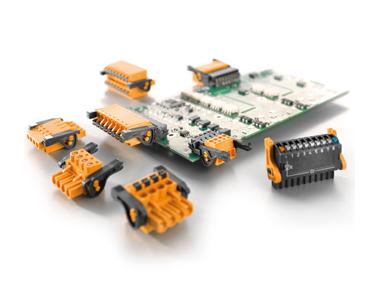 魏德米勒OMNIMATE信号-带杠杆的PCB接插件