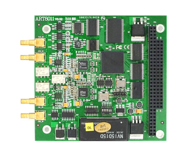 阿尔泰PC104总线 ART8011高速示波器卡2路 12位 100M