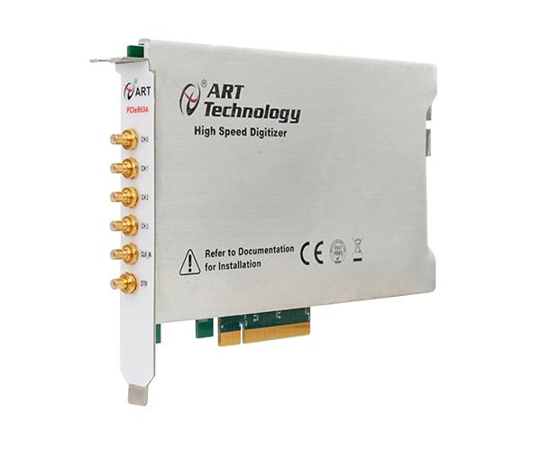 PCIe8534北京阿尔泰PCIe8533同步AD卡4路同步采集 每路80M带宽40M