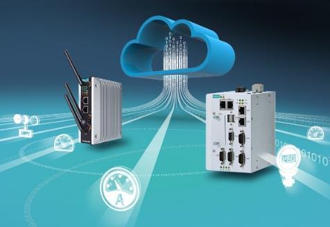 Moxa 为工业级智能应用开发边缘网关设备,支持接入Microsoft Azure IoT