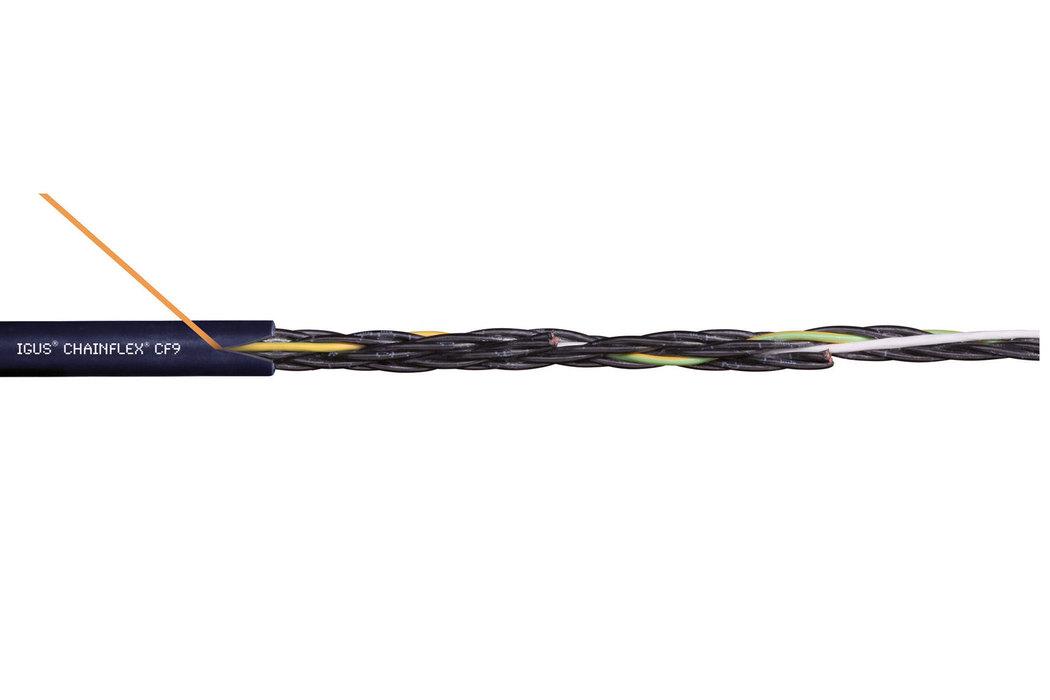 易格斯 chainflex 高柔性控制电缆 CF9.02.02