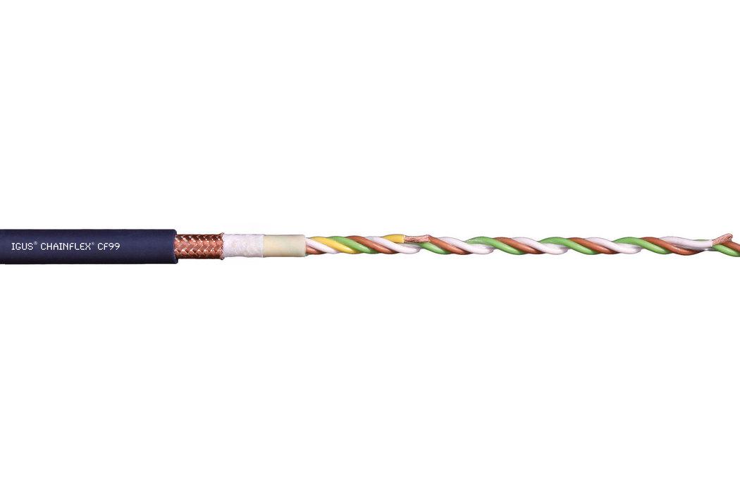 易格斯 chainflex CF99 高柔性控制电缆