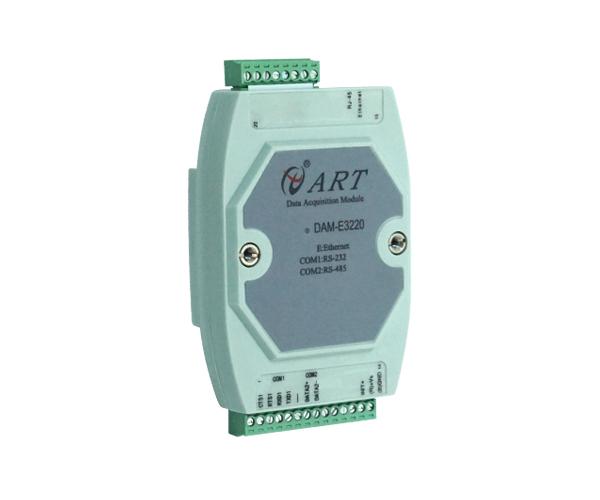 北京阿尔泰DAM-E3220M网关模块 RS232 RS485转网口