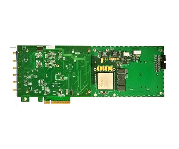 PCIe示波器卡 高速AD卡 14位2路同步 250M采样PCIe8912\PCIe8914