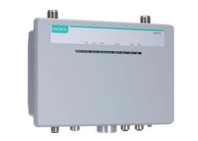 Moxa TAP-213系列户外无线 AP/客户端