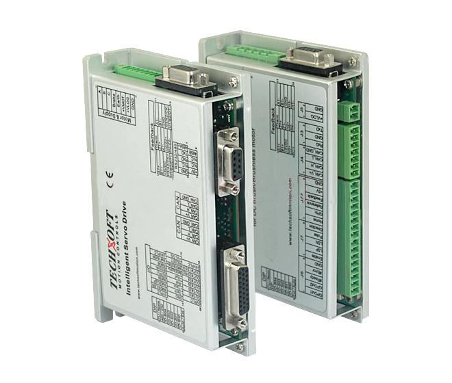 泰科智能Techservo封闭式散热结构直流可编程伺服驱动器IDM640-8EIA