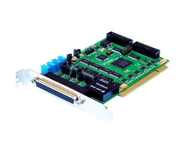 PCI2010同步数据采集卡32路AD 14位400K模拟采集带DA DIO采集DAQ   阿尔泰科技