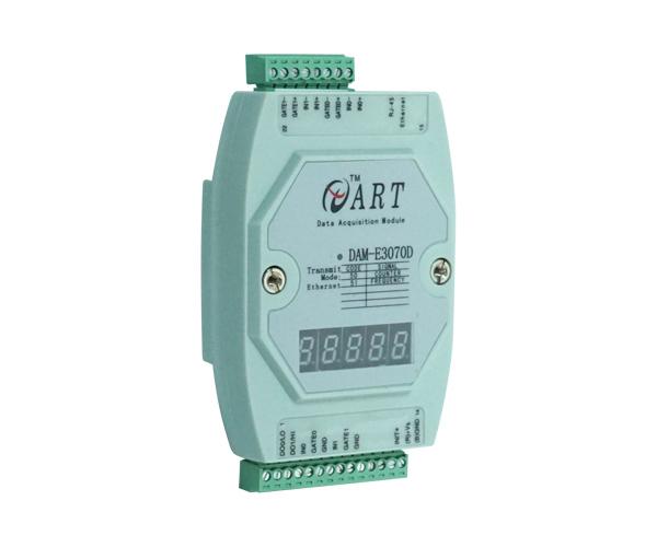 以太网I/O模块    DAM-E3070D 2路频率/计数输入模块