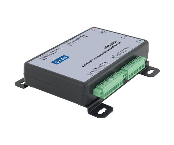 USB5601 8路热电偶采集USB模块