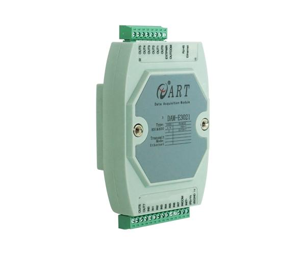 DAM-E3021 阿尔泰  8路隔离DI输入/8路集电极开路输出模块