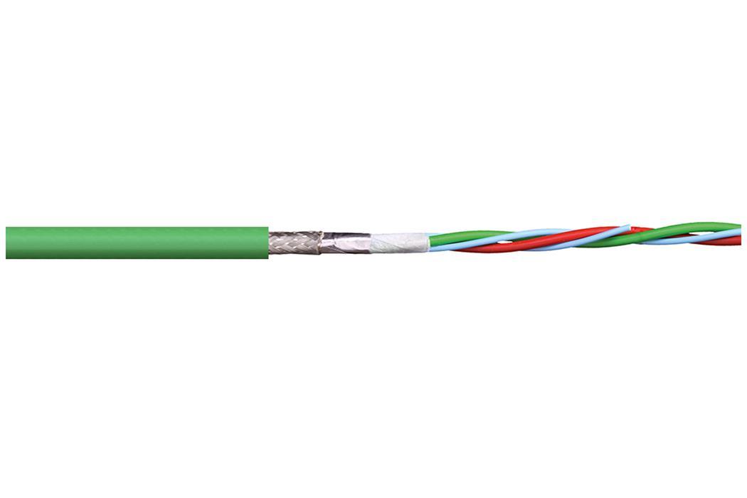 易格斯 chainflex 高柔性控制电缆 CFBUS.PUR.068