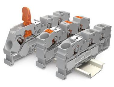 万可电子TOPJOB S 系列轨装式接线端子
