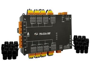 泓格多回路智能电表新产品上市: PM-4324A-100P
