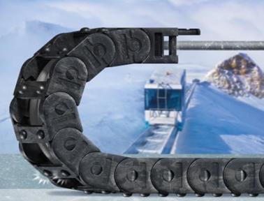 维护成本降至冰点:ice-chain 拖链可在低温下正常运行