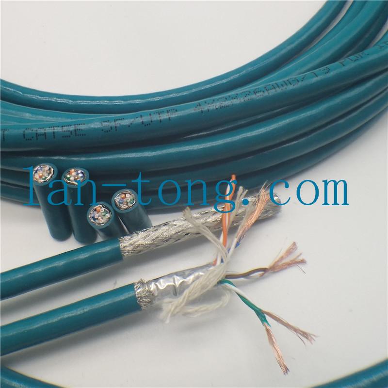 拖链网线-坦克链网线-拖链盒网线-高柔工业以太网电缆