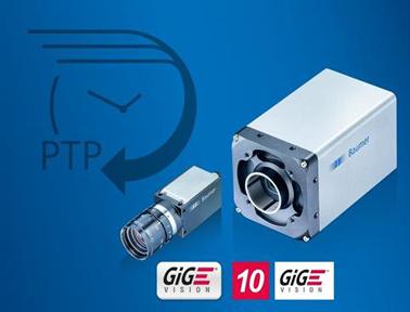 微秒级测量精度:支持精确时间协议的工业相机
