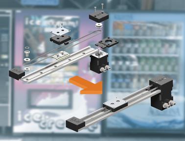 小巧、紧凑且经济高效:igus的新型免润滑直线同步带执行机构